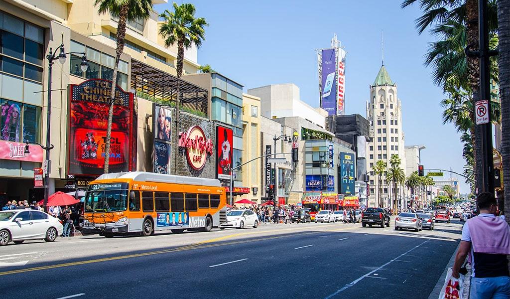 hollywood bulevard
